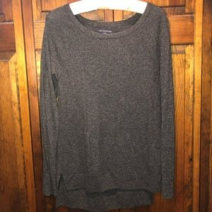 American Eagle Gray Long-sleeves Sweater Small